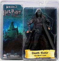 Harry Potter Series 2 Death Eater Green Mask 7 Figure Base Wand Phoenix Neca
