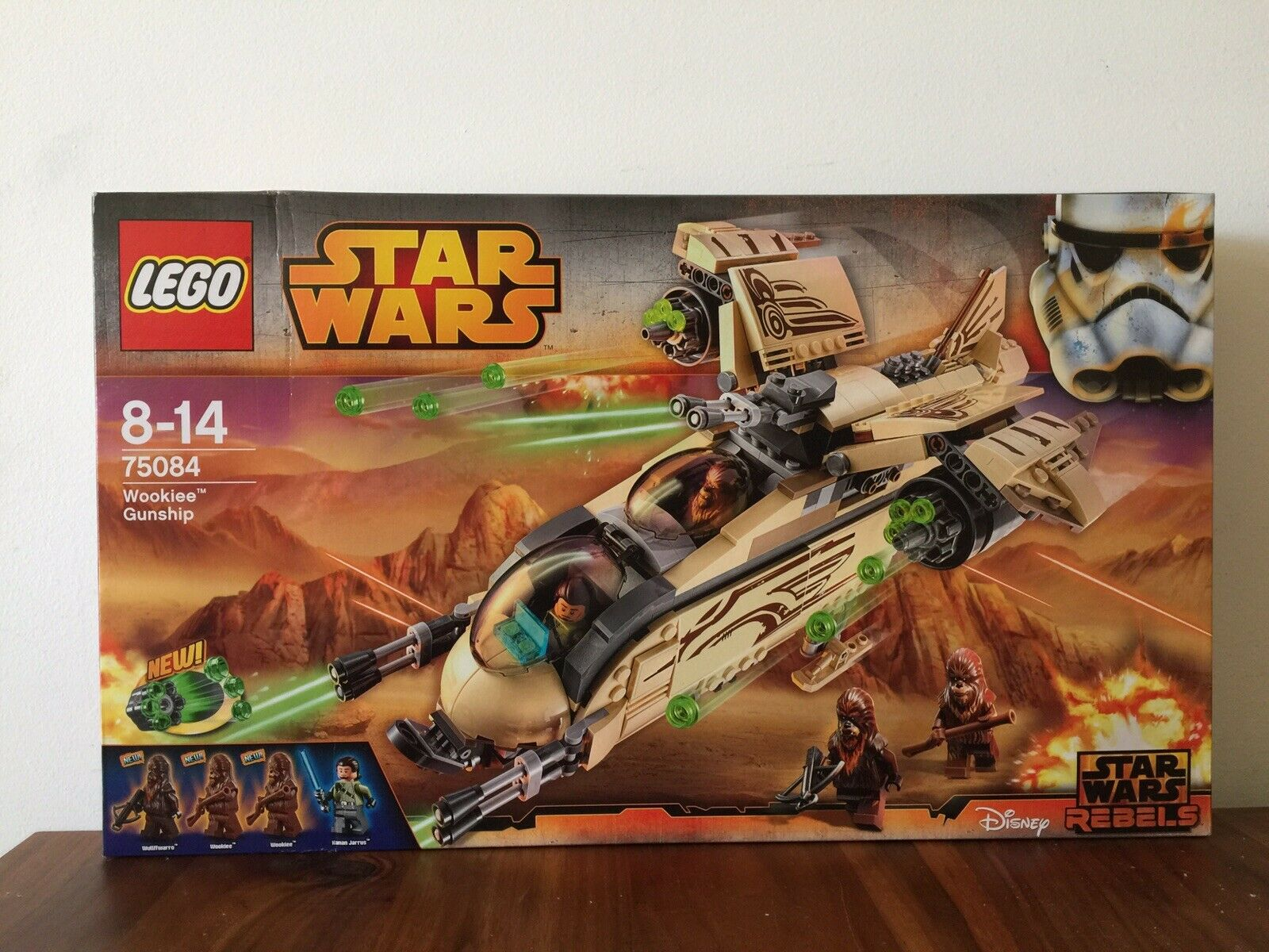 Lego Star Wars Wookiee Gunship 75084 New Unopened Recommended Age 8-14