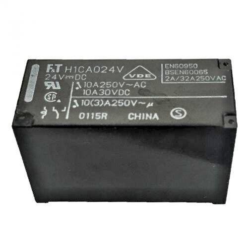 Relè FTR-H1CA024V Fujitsu H1CA024V RELAY  24VDC 10A  250VAC1 5PIN QTY: 2 PEZZI