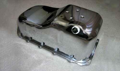 Chrome Chevy S-10 S-15 Truck S10 S15 pickup camaro firebird SBC 2.8L V6 Oil Pan