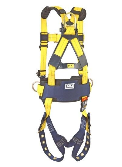3M DBI-SALA 1101654 Delta Construction Style Positioning Harness M 420 Yellow