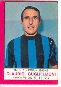 figurina CALCIATORI PANINI 1967//68 REC PISA GUGLIELMONI
