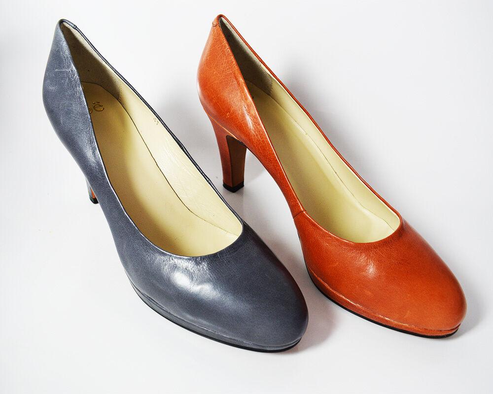 NOE Plateforme Talon Haut Femmes En Cuir Escarpins Cour Chaussures