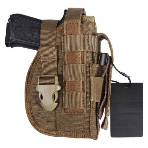 Gun Holster Tactical Molle Modular Belt Pistol for Right Handed Shooter Holders