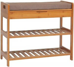 Entryway Bench With Storage Living Room Bedroom Seat Shoe ...
