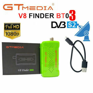 GTMedia Buscador de señal de satélite DVB-S/S2 V8 BT03 Satfinder Bluetooth APP