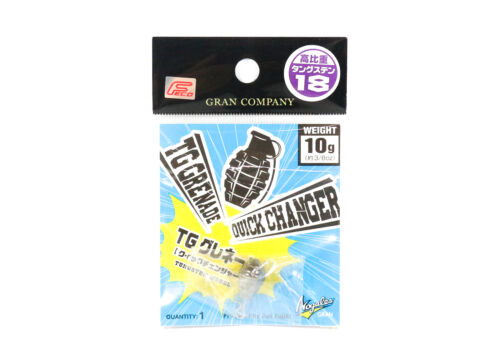 5030 Varivas Nogales TG Grenade Quick Changer Tungsten Sinker Size 10 grams