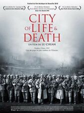 Affiche 120x160cm CITY OF LIFE AND DEATH /NANJING ! NANJING ! 2010 Chuan Lu NEUV