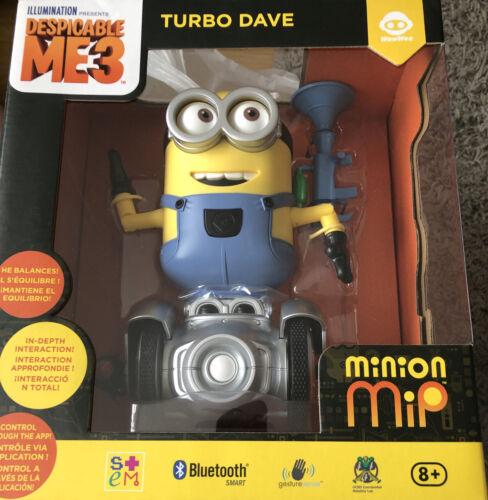 Cattivissimo ME 3 Mini Turbo Dave MINI Nuovo di zecca in confezione Minion Telecomando RC Robot-NUOVO
