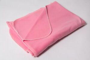 Gehemmt Befangen Neu 1,50x2,00m 100% Polyester Tropf-Trocken Selbstbewusst Unsicher Rosa Verlegen Kuscheldecke Baby