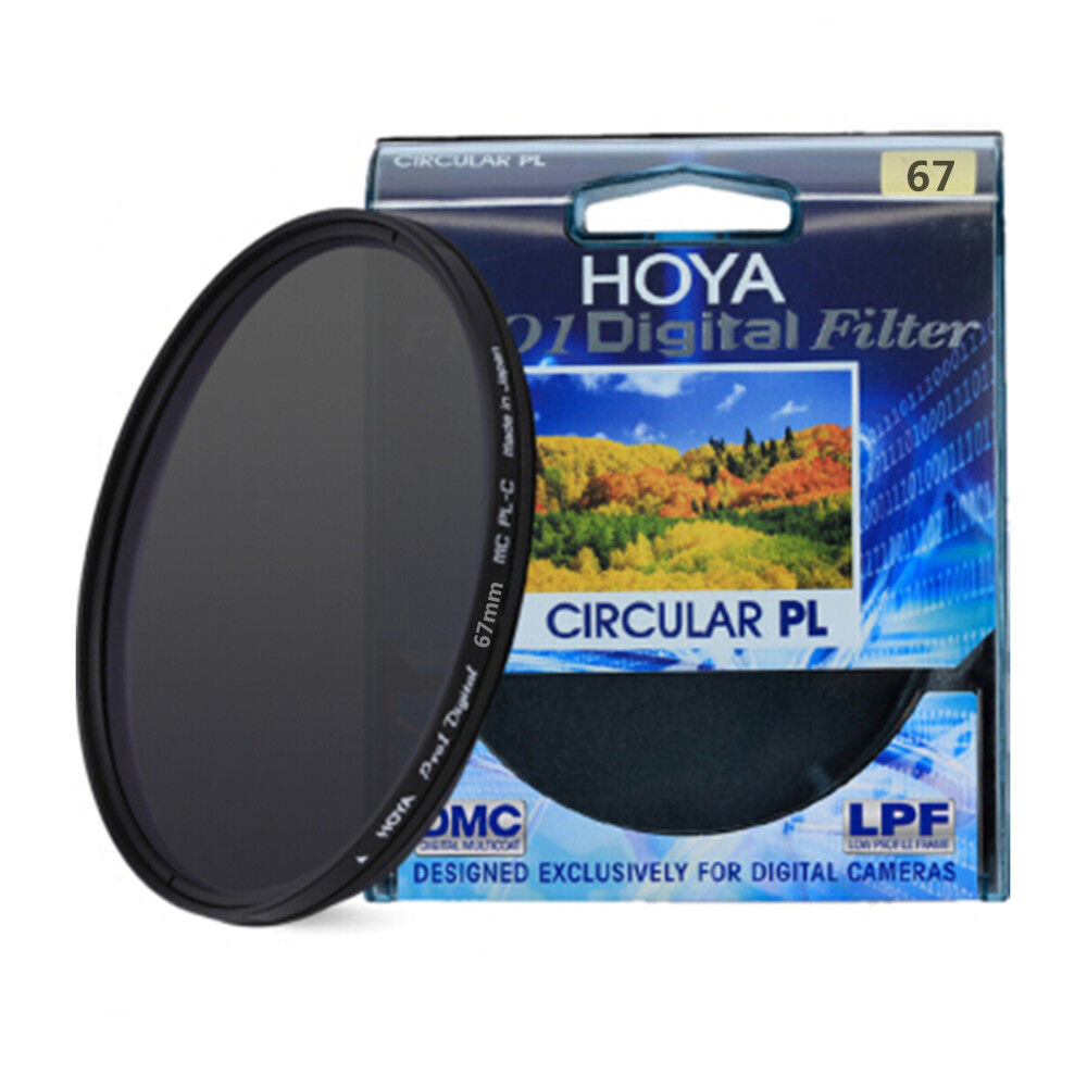 HOYA 67mm for SLR Camera  Pro1 Digital CPL CIRCULAR Polarizer Camera Lens Filter 2
