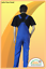 und Schlankgröße NEU Arbeitslatzhosen Latzhose Kornblau in Normal- Bauch
