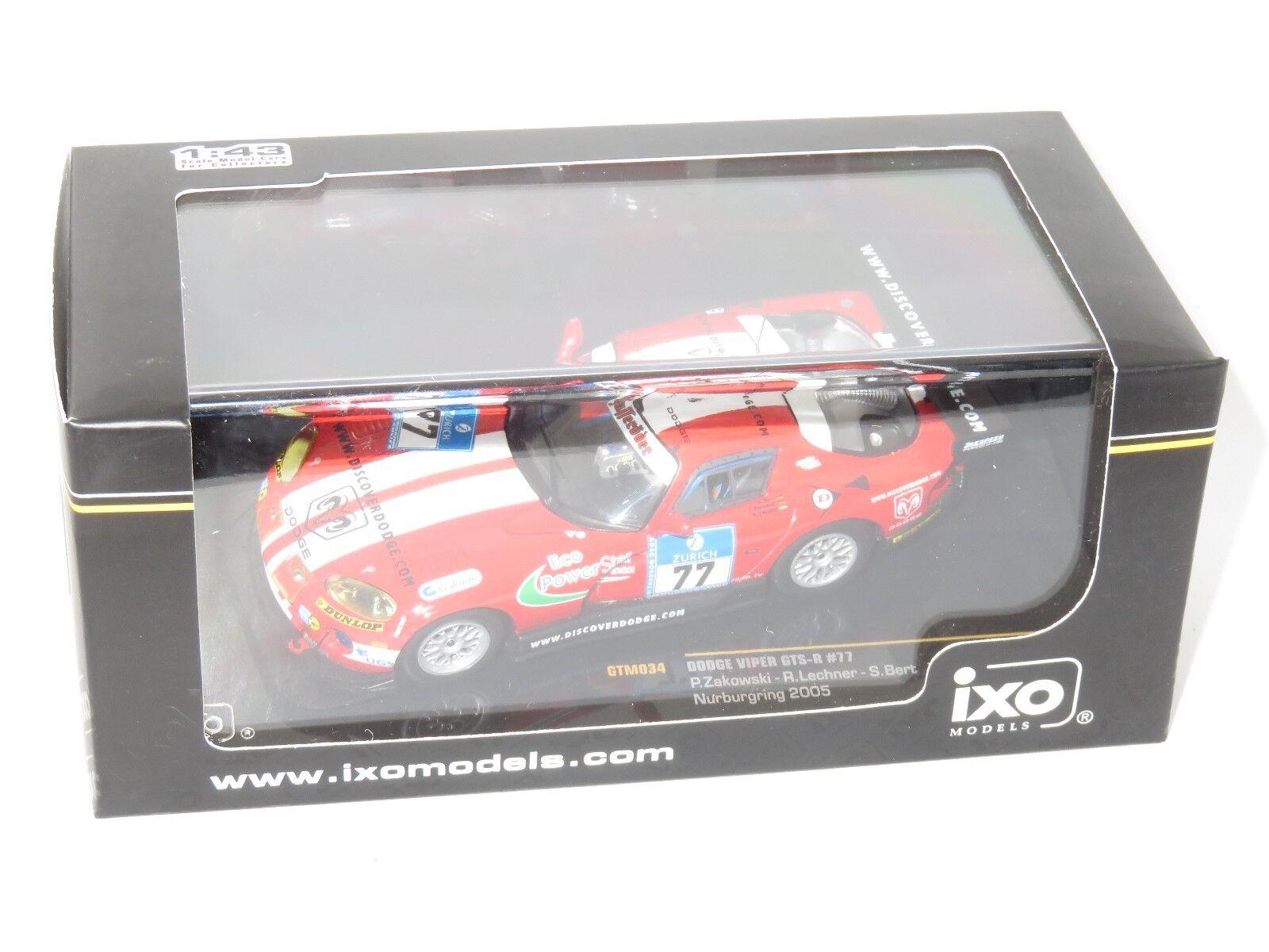 1 43 Dodge Viper GTS-R Nurburgring 24 Hrs 2005