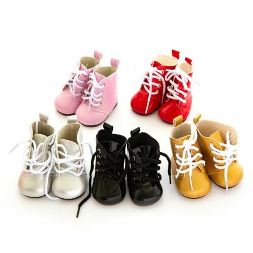 Doll Leather Shoes American Girl Doll Shoes Cute Small Shoes Strip Boots Mn