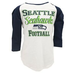 wholesale dealer 7c1a2 5f263 Details about Seattle Seahawks Official NFL Apparel Teens Girls Size Sheer  Shirt New with Tags
