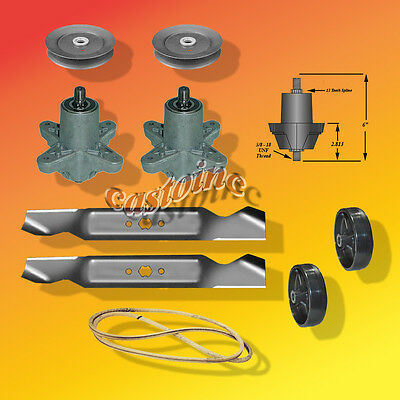 "9588 MTD Deck Pulley 756-0969 600 Series models 12 point spline 5/"" X 1/"""