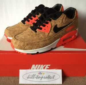0ba8139d825e5f NIKE AIR MAX 90 CORK Sz US8 UK7 25th Anniversary Infrared 725235-706 ...