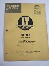 Oliver Super 99gmtc 950 990 995 770 880 Shop Manual Iampt