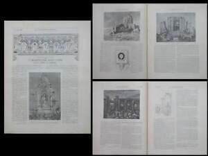 Construction Moderne N°1 Et 5 1890- Temples Cachemire Inde, Martundh