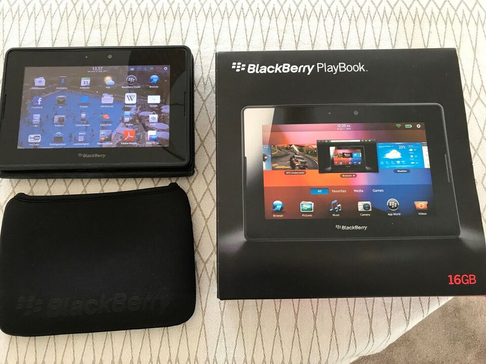 BlackBerry, Playbook, 7 tommer