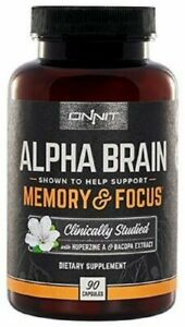 Alpha-Brain-Memory-90-Count-NEW-FRESH-SEALED-AUTHENTIC-FREE-Shipping