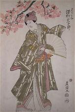 Original Japanischer Farbholzschnitt Utagawa Toyokuni I. (1769-1825) H0383