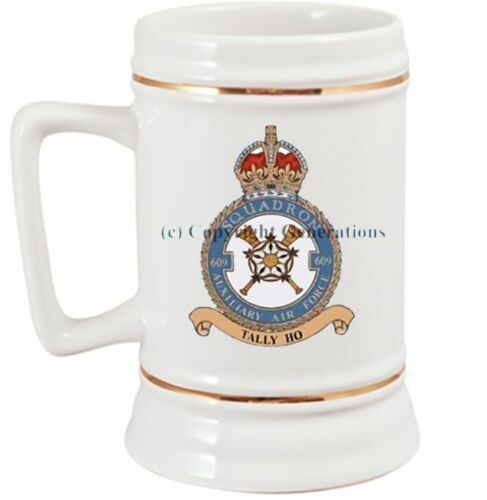 ROYAL AIR FORCE 609 SQUADRON BEER STEIN