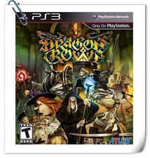 PS3 Dragon's Crown ENG 魔龍寶冠 中文版 SONY PlayStation Games RPG Atlus