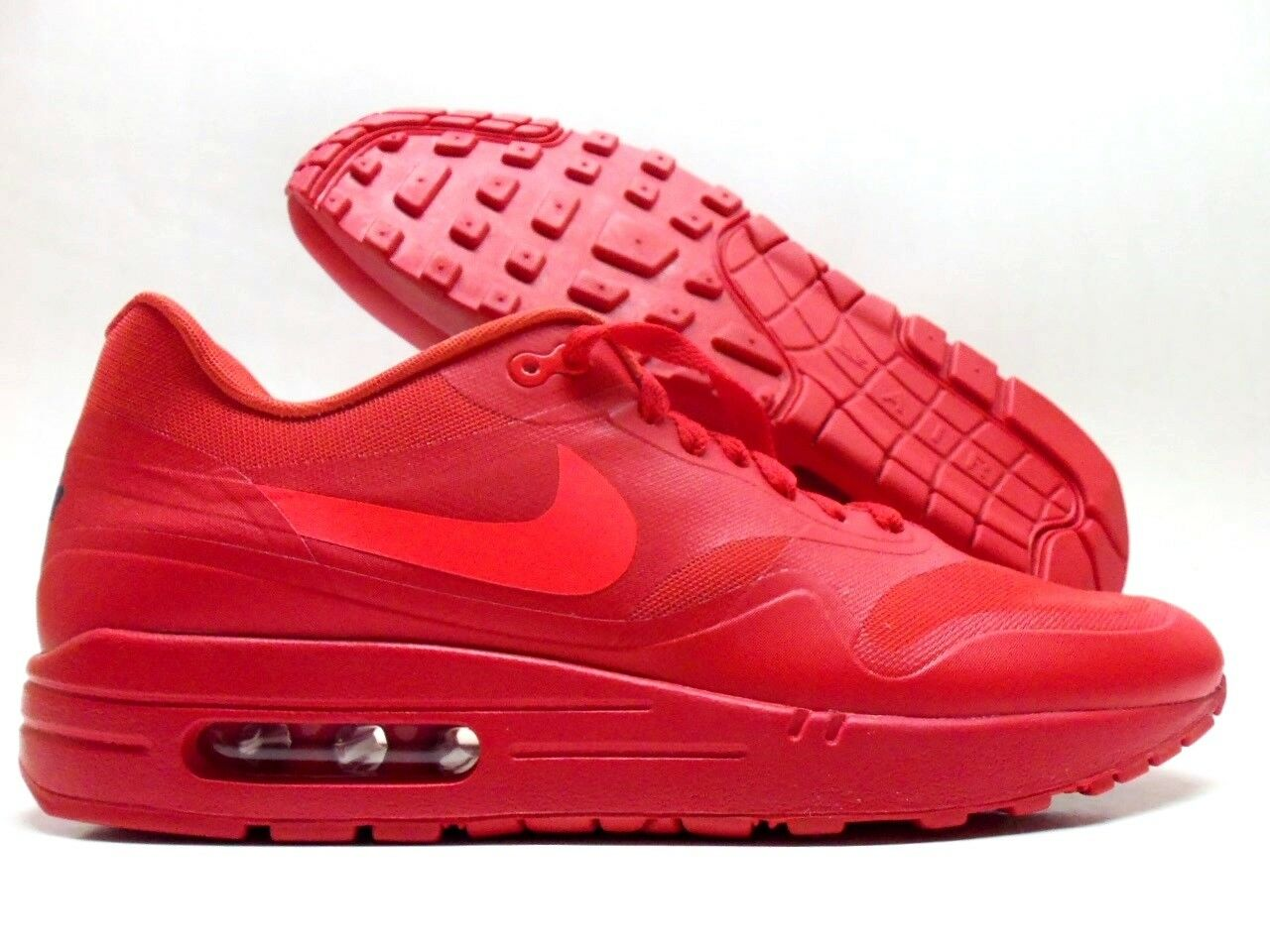 NIKE AIR MAX 1 iD  RED OCTOBER  SPORT RED SOLAR RED-WHITE MEN'S 10 [874605-991]
