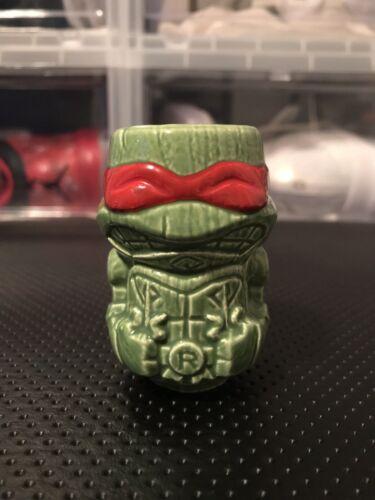 TMNT Raphel Tiki  Loot Crate Geeki Tikis Teenage Mutant Ninja Turtles Shot Glass