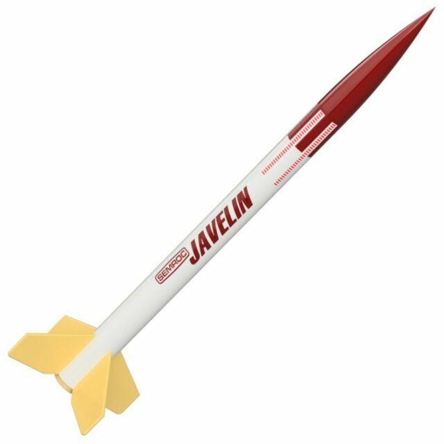 Semroc Flying Model Rocket Kit Swift Boost Glider KV-27