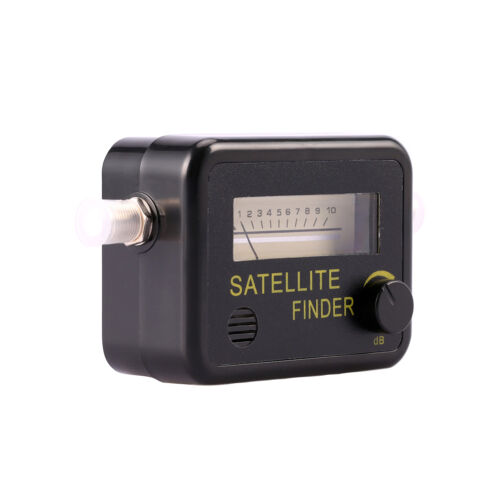 Satellite Finder Find Alignment Signal Meter Receptor For Sat Dish TV EP