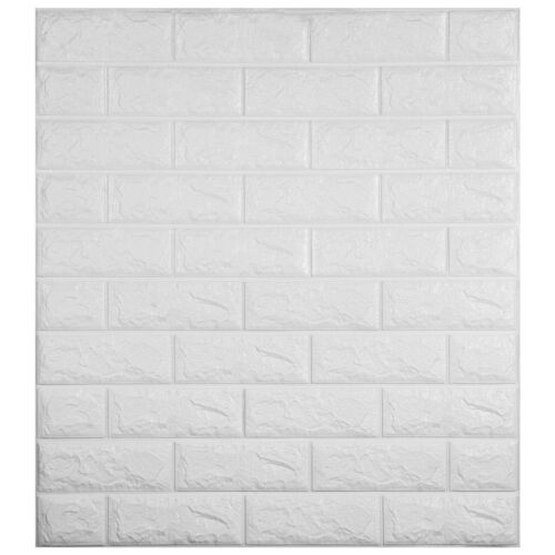 Waterproof 3D Wall Sticker Brick DIY PE Foam Panel Home Room Kitchen Decor 22Pcs