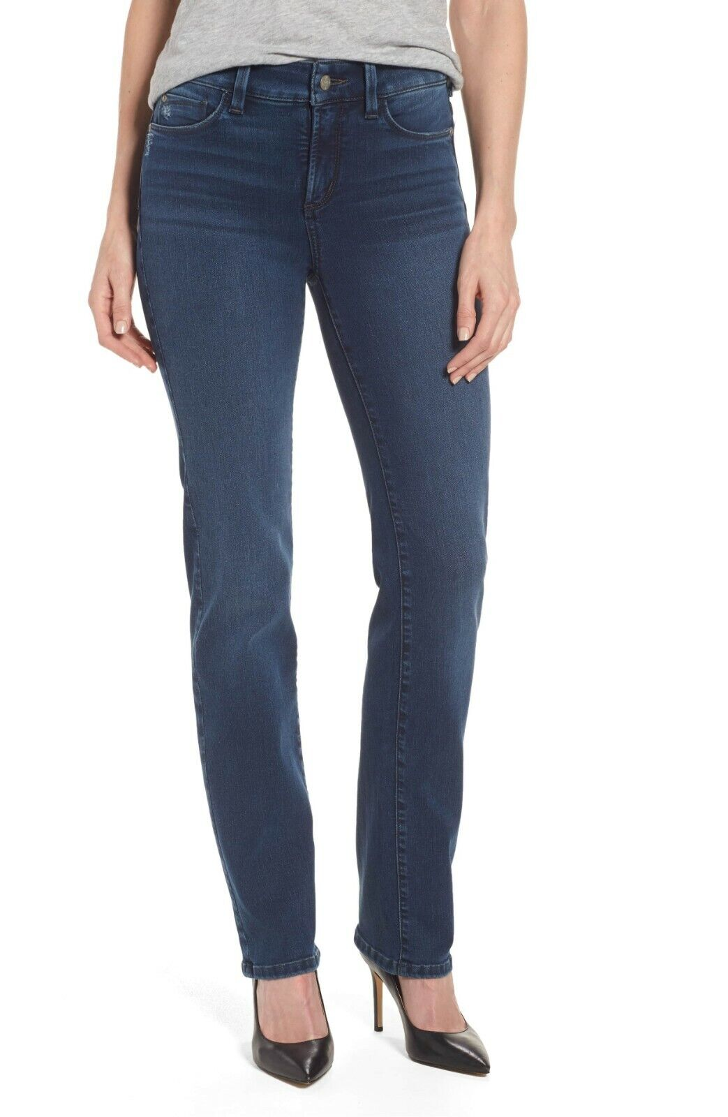 NWT Not Your Daughter's Jeans NYDJ Marilyn Straight in Traveler Uplift Jeans 16P