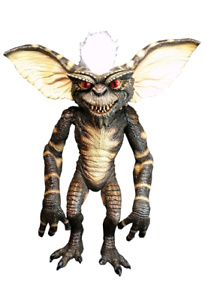 Trick Or Treat Gremlins Evil Stripe Gizmo Mogwai Movie Puppet Prop RLWB102 Puppen & Zubehör