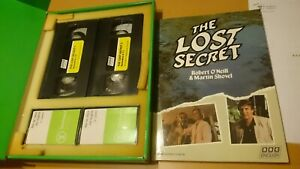 Curso-ingles-BBc-english-the-lost-secret-con-Robert-o-039-neill-vhs-y-cassettes