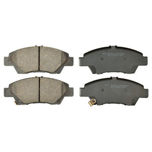 Front and Rear Ceramic Brake Pads plus Shoes For Honda Fit 2009-2017