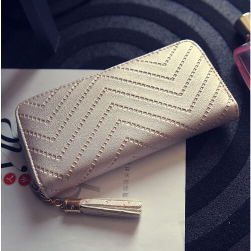 New Fashion Women Leather Card Holder Wallet Lady Long Handbag FREE GIFT !!!