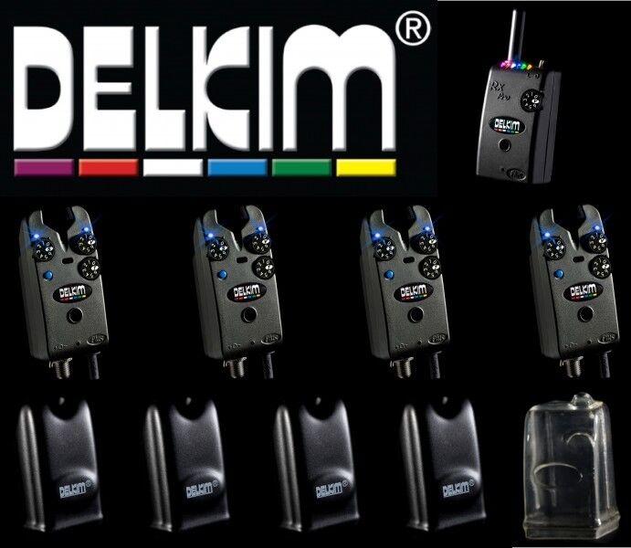4 Delkim TXi Receiver Plus + RX Plus Pro 6 Led Receiver TXi 57fe84