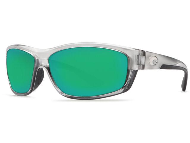 2f9acc7b50 Costa Del Mar SALTBREAK Silver Green Mirror 580p Sunglasses for sale ...
