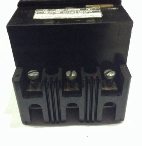 F3050 Westinghouse Type F Circuit Breaker 3 Pole 50 Amp 600V