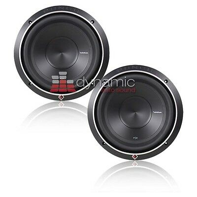 """(2) RockFord Fosgate® P2D2-10 Stage 2 Subs10"""" D2 Punch Car Subwoofers 1,200W New"""