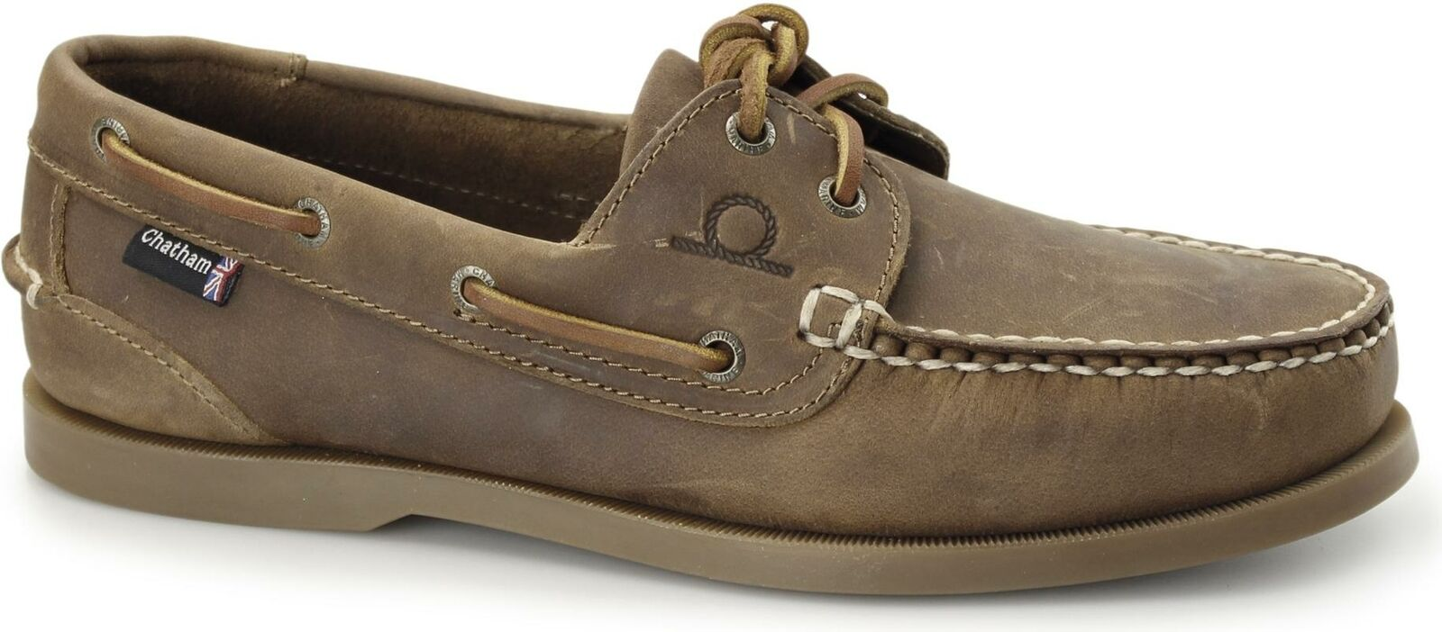 Boat Comfort Casual Leather Soft Mens G2 DECK Chatham schuhe