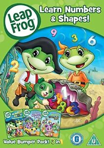Leapfrog-Learn-Numbers-and-Shapes-DVD-Region-2