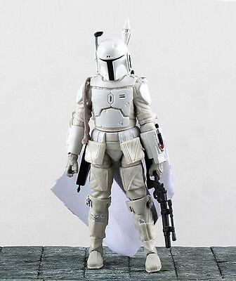 """Star Wars Bounty Hunter Boba Fett White 6/"""" Loose Action Figure"""