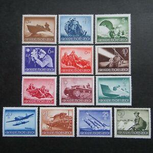 Germany-Nazi-1944-Stamps-MNH-Hero-Memorial-Day-WWII-Third-Reich-German-Deutschla