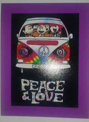 Peanuts ♡ Snoopy ♡ Woodstock  ♡ ALWAYS ♡   Magnet.