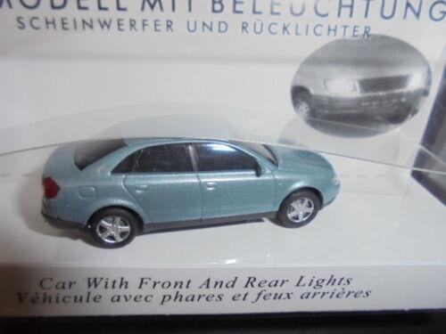 BUSCH 5651 Spur H0, Audi A4 hellblau #NEU in OVP#