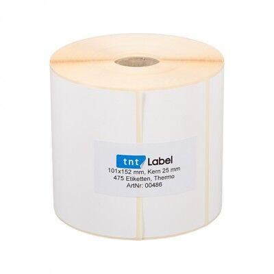 475 St/ück Thermo Etiketten auf Rolle 100 x 150 mm Versand UPS DPD DHL Zebra
