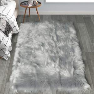 Haocoo Faux Fur Sheepskin Rug Fuzzy